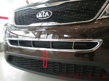 NEW Chrome Front Grille Cover Trim for NEW KIA SORENTO 2014- 2017