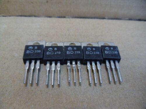 5 x  BD239b  transistor npn