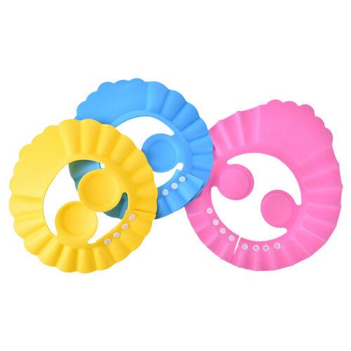 1pc adjustable baby kids shampoo bath bathing shower cap hat wash hair shield ~!