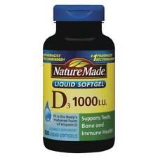 Nature Made Vitamin D3 1000 Iu 25mcg Liquid Softgels 300 Count For Sale Online Ebay
