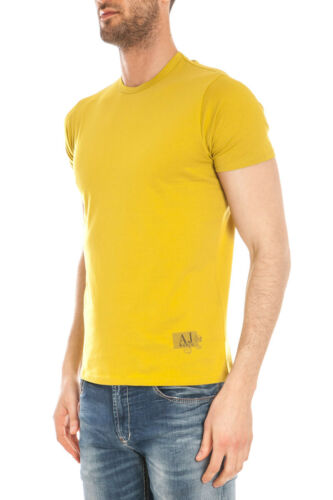 Armani C6h18ff T6 Coton Sweat Shirt T Homme Jaune Jeans zw5aUqp