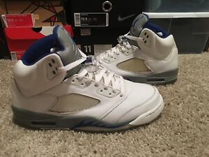 93aa1fd44bba Image is loading Air-Jordan-Retro-5-Stealth-2006-Release-Men-