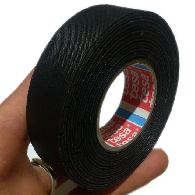 TESA 51025 19mm x 25m, Adhesive Cloth Fabric Tape cable looms,wiring harness