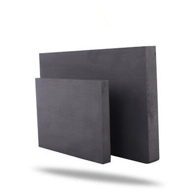 150x150x5mm Graphite Plate Sheet Carbon Vane Electrode Mould Sanode 5mm thick