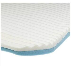 cloud memory foam mattress topper by contour 3 layers. Black Bedroom Furniture Sets. Home Design Ideas