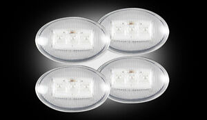 Recon-Clear-LED-Dually-Fender-Lights-1999-2010-Ford-F350-Super-Duty-264132CL