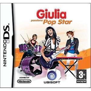 NDS-Giulia-Passione-Popstar-USATO-Buone-Condizioni