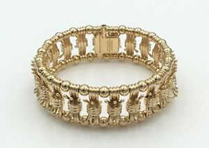 Details About Tiffany Co Schlumberger 18k Yellow Gold Bowtie Bracelet Las Retail 27 500