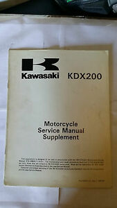 Kawasaki-KDX-200-e2-KDX200-E2-1990-Service-Manual-Supplement
