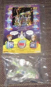 2003 Spy Kids 3-D McDonalds Happy Meal Comic Book & Robot Toy #4