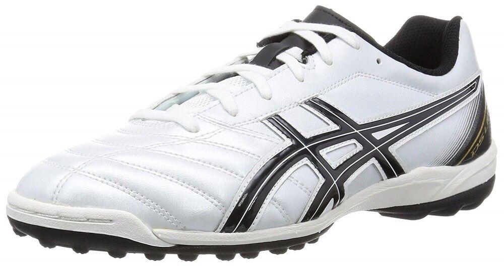 Zapatos de fútbol Asics DS Light 2 TF SL Tst 666 0090 Negro blancoo Perla US 7-10.5