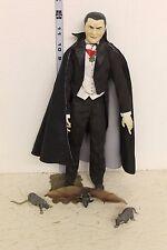 """Universal Studios Monsters """"Bela Lugosi Dracula"""" 12in Figure Colored loose"""