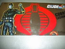 GI Joe 25th Anniversary Collector's Case 5 Pack Cobra Legions Commander Storm