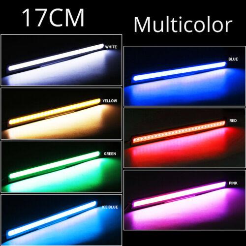 feux de jour 17CM COB phare de style DRL Details about  /COB phare de voiture1 pièce 17cm