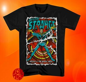 0088b64e7010 New Marvel Doctor Strange Comic Book Cover Classic Mens T-Shirt | eBay