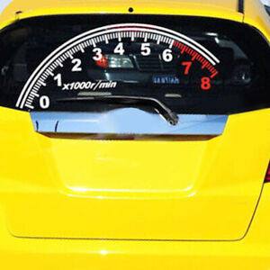 Off-Road-Car-Sticker-Speedometer-Vinyl-Graphics-Reflective-Decal-Windshield