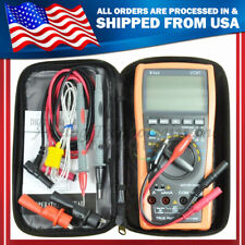 Vc87 True Rms Digital Multimeter Dmm Motor Drive With Backlight With Case Usa Seller
