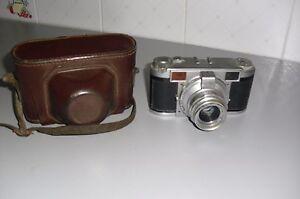 GERMAN vintage 35mm LORDOMAT PRONTOR - LORDON WETZLAR 50mm LENS -CUSTODIA. - Italia - GERMAN vintage 35mm LORDOMAT PRONTOR - LORDON WETZLAR 50mm LENS -CUSTODIA. - Italia
