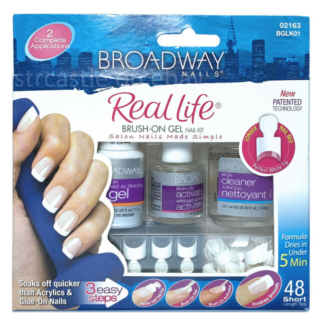 Broadway Nails Brush-On Gel Nail Kit for sale online | eBay