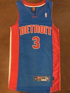 Details about Rare Vintage Nike NBA Detroit Pistons Ben Wallace Basketball Jersey