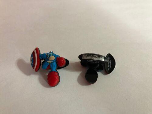 Captain America Figure Shoe-Doodle Captain America Shoe Charm for Crocs SPDR2023