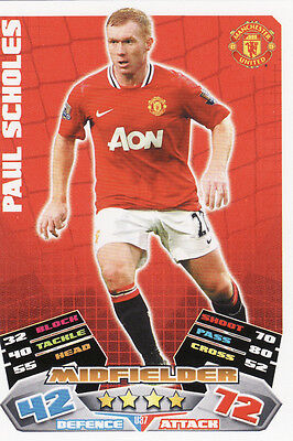 Match Attax 09//10 Man United Cards Pick Your Own From List