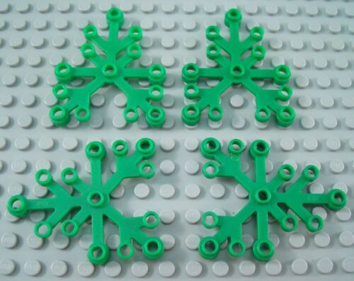 LEGO Lot of 4 Green 6x5 Large Plant Tree Leaves