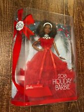 Barbie 30th Anniversary 2018 Holiday Doll Brunette With Ponytail