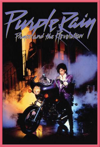 Musik Prince Purple Rain Poster Druck Größe 61x91,5 cm