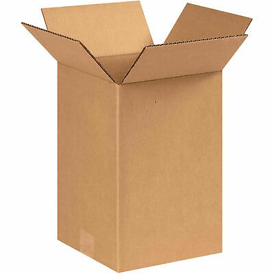 New for Packing or Shipping Needs 5 Corrugated Boxes 13 x 13 x 10 200#//32 ECT