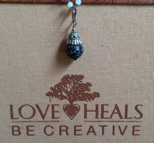 Love Heals Be Creative Pepper Agate Basket Cap Drop NEW retails $25.00