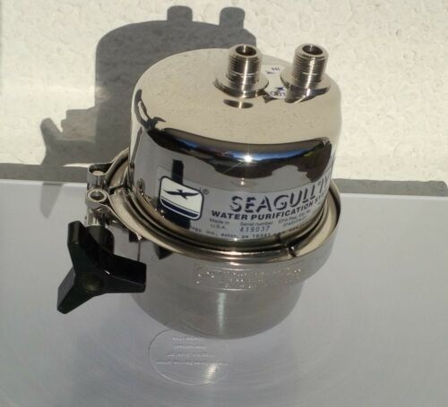 General Ecology Seagull IV Drinking Water Air stainless steel pressure vessel,