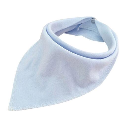 Adjustable Multi Color Baby Bib Cotton Bandana Bibs Newborn Bibs Burp Cloths 6A