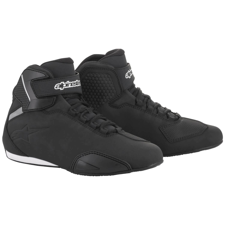 Alpinestars Sector Men's Motorcycle Shoes Microfibre - Black