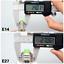 E27-E14-24-30-42-64-80-LED-Light-Bulb-Smart-IC-Power-5730-SMD-Corn-Lamp-220V110V thumbnail 3