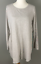 NEW-PURE-J-JILL-XS-M-L-L-S-Shirttail-Tunic-Pima-Cotton-Modal-Oatmeal-Beige thumbnail 1