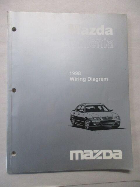 1998 Mazda Millenia Electrical Wiring Diagram Service