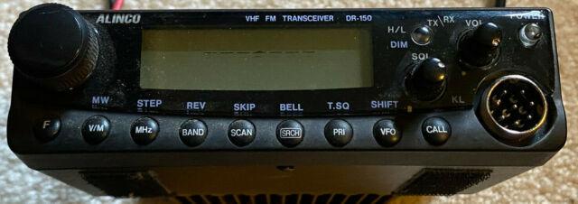 Alinco Dr 235t 220mhz Vhf Amateur Radio Transceiver For Sale Online Ebay