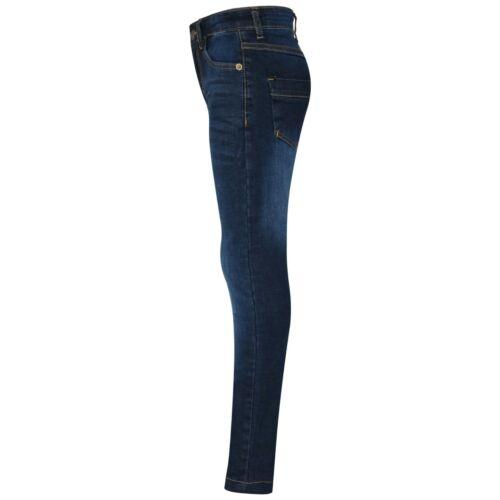 Kids Boys Skinny Jeans Designer Denim Stretchy Pants Fit Trouser New Age 5-14 Y