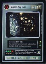 STAR TREK CCG REFLECTIONS SUPER RARE QUEENS BORG CUBE