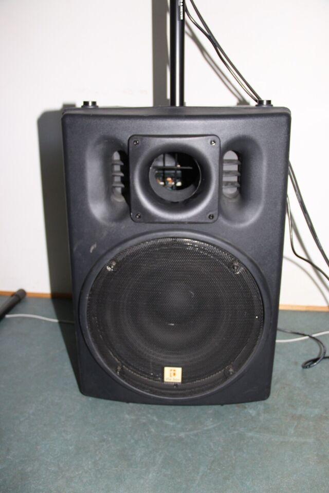 Aktiv PA, The Box Pro DSP 112 + SB115A