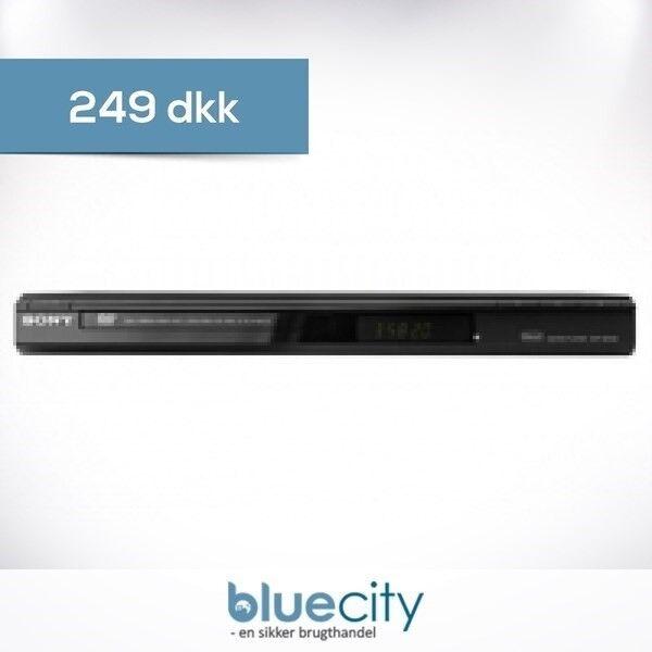 Andet, Sony, Sony DVP-SR100 DVD Sort