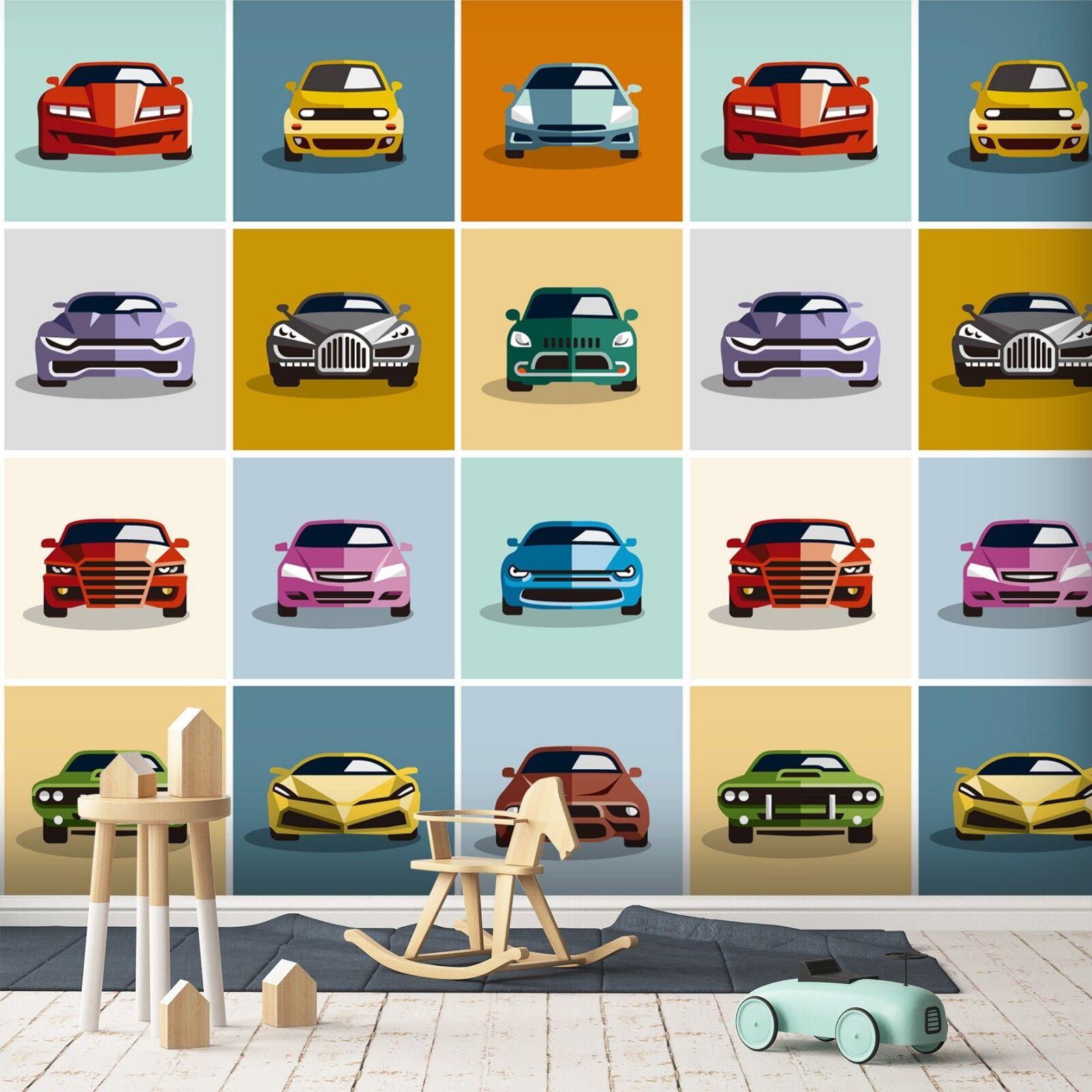 3D Fahrzeug Gefärbt Gefärbt Gefärbt 7 Tapete Wandgemälde Tapete Tapeten Bild Familie DE Sidney | Ausgezeichnetes Preis  | Schönes Design  |  5dcc81
