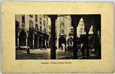 Cartolina Formato Piccolo - Novara - Piazza Cesare Battisti Viaggiata