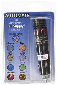 Auto Mate On The Road Plug In Ionic Air Purifier As1250b