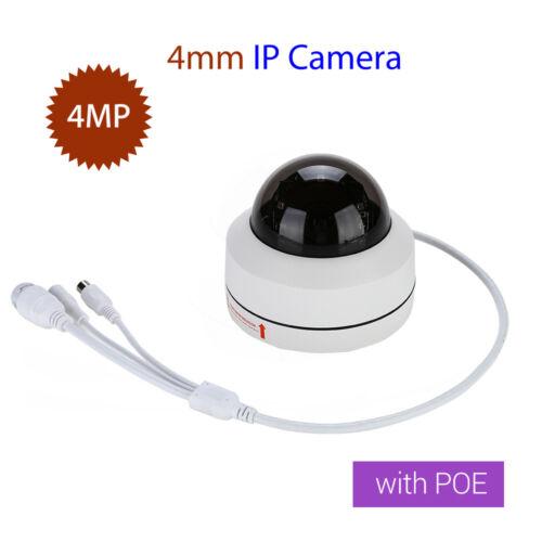4MP HD 1080P IP Camera PoE Network 4mm Onvif Pan Tilt IR Night Vision Audio CCTV