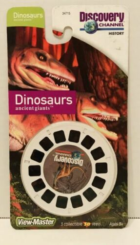 3 Reels on Card Discovery Channel Bugs into The Insect World New Classic ViewMaster