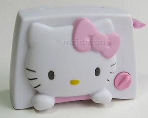 LOOSE-McDonald-039-s-2004-Hello-Kitty-TOASTER-Toast-Sanrio-Cat-Toy-HK-CAKE-TOPPER