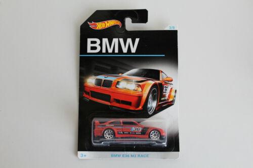 HOT WHEELS BMW series bmw E36 M3 RACE 1//64 #3//8