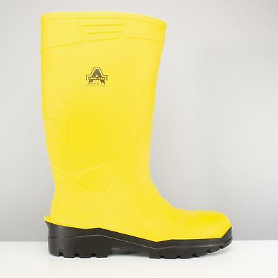 Amblers AS1008 Safety Wellingtons Mens Steel Toe Cap Wellies Work Boots